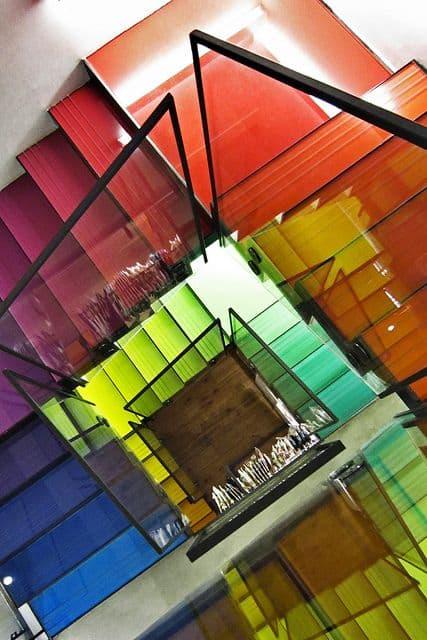 Escalera de color